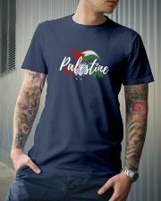 Palestine Flag Shirt Design Classic T-Shirt lifestyle-mens-crewneck-front-6