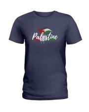 Palestine Flag Shirt Design Ladies T-Shirt thumbnail