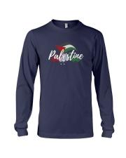 Palestine Flag Shirt Design Long Sleeve Tee thumbnail