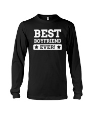 Best boyfriend ever t shirts Long Sleeve Tee thumbnail