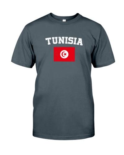 Tunisia Flag Shirt Vintage