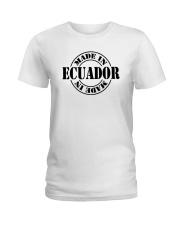 Made in Ecuador Ladies T-Shirt thumbnail