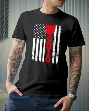 Usa ohio flag Classic T-Shirt lifestyle-mens-crewneck-front-6