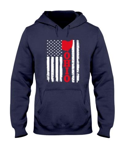 Usa ohio flag