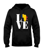 Chadian pride i love Chad flag africa Hooded Sweatshirt thumbnail