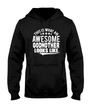 This is what an awesome godmother looks like Hooded Sweatshirt thumbnail