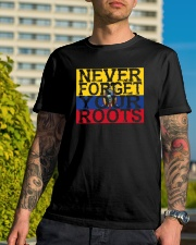 Never forget roots home Ecuador Classic T-Shirt lifestyle-mens-crewneck-front-8