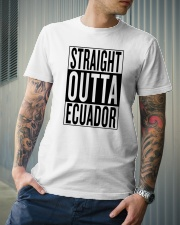 Straight outta Ecuador Classic T-Shirt lifestyle-mens-crewneck-front-6