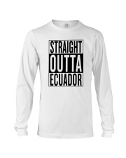 Straight outta Ecuador Long Sleeve Tee thumbnail
