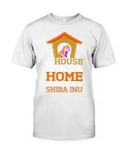 A House Is Not A Home Without A Shiba Inu Dog Shir Classic T-Shirt thumbnail