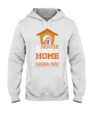 A House Is Not A Home Without A Shiba Inu Dog Shir Hooded Sweatshirt thumbnail