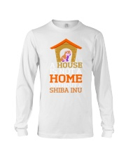 A House Is Not A Home Without A Shiba Inu Dog Shir Long Sleeve Tee thumbnail