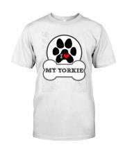 i love my yorkie dog T shirt Premium Fit Mens Tee thumbnail