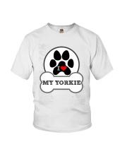 i love my yorkie dog T shirt Youth T-Shirt tile