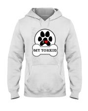 i love my yorkie dog T shirt Hooded Sweatshirt thumbnail