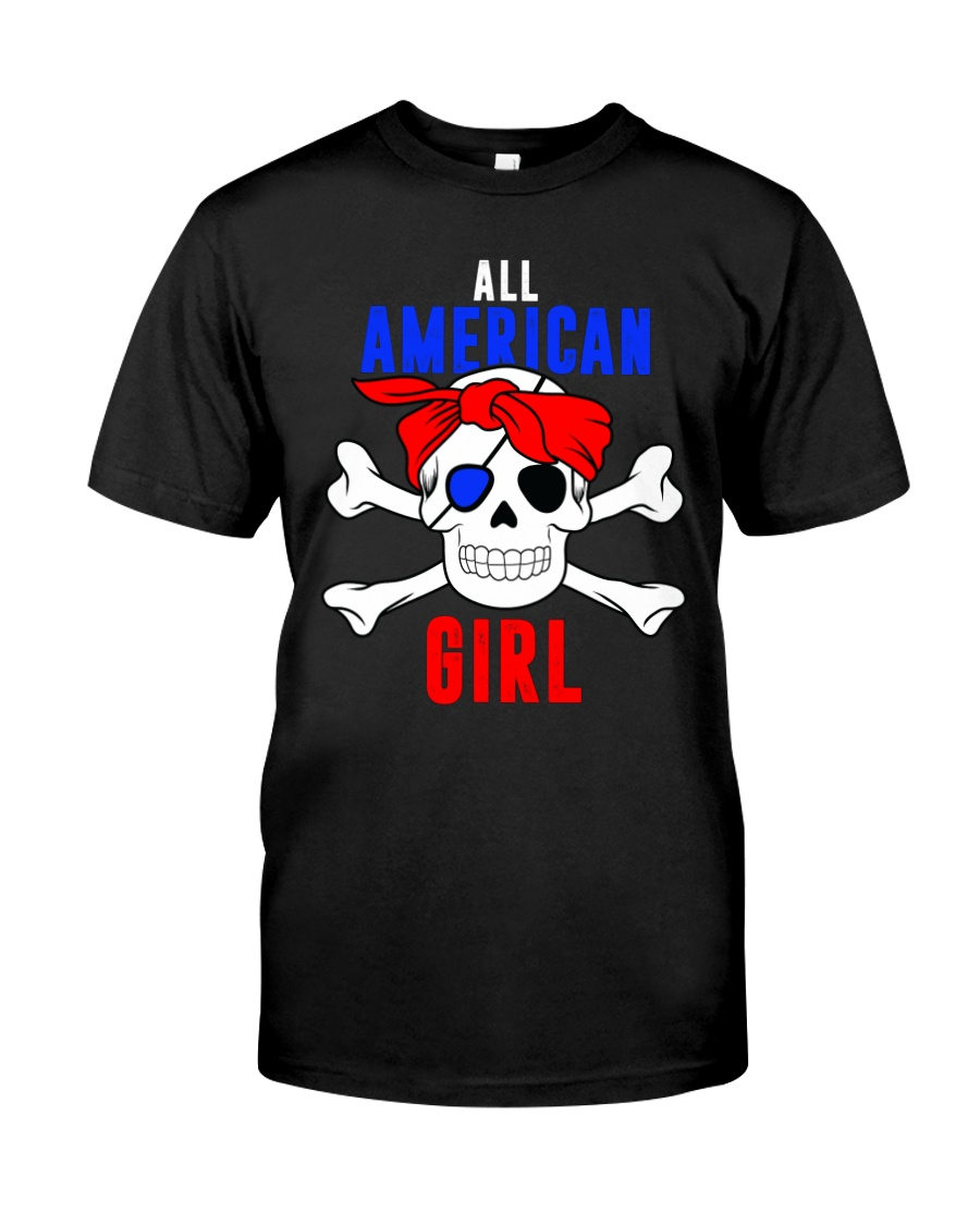 ALL AMERICAN GIRL Classic T-Shirt