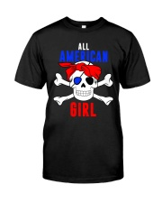 ALL AMERICAN GIRL Classic T-Shirt front