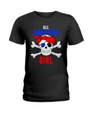ALL AMERICAN GIRL Ladies T-Shirt thumbnail