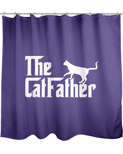 The CatFather T-shirt Father's Day Funny Gift