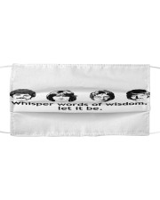 The Beatles Let It Be Cloth Face Mask Cloth face mask front