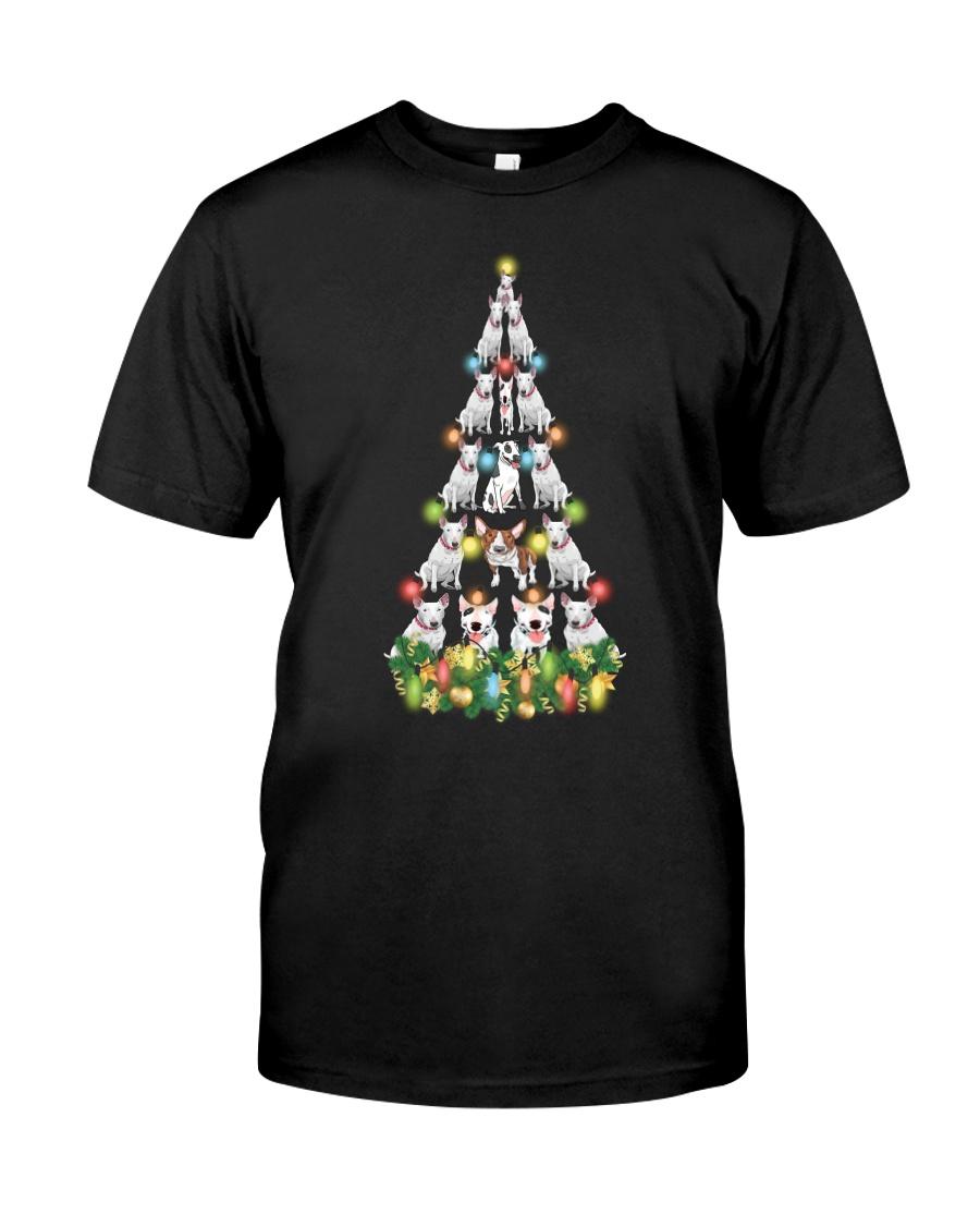 CHRISTMAS TEES FOR BULL TERRIER LOVER Classic T-Shirt