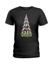 CHRISTMAS TEES FOR BULL TERRIER LOVER Ladies T-Shirt thumbnail