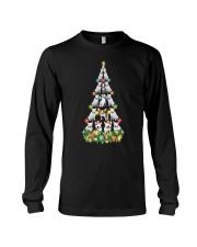 CHRISTMAS TEES FOR BULL TERRIER LOVER Long Sleeve Tee thumbnail