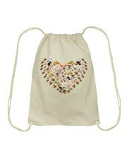 mushroom lover Drawstring Bag front