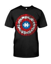 AUTISM AUTISM AUTISM AUTISM AUTISM AUTISM  Classic T-Shirt thumbnail