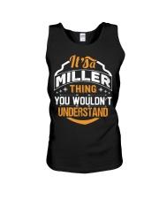 MILLER MILLER MILLER MILLER THING MILLER THING Unisex Tank thumbnail