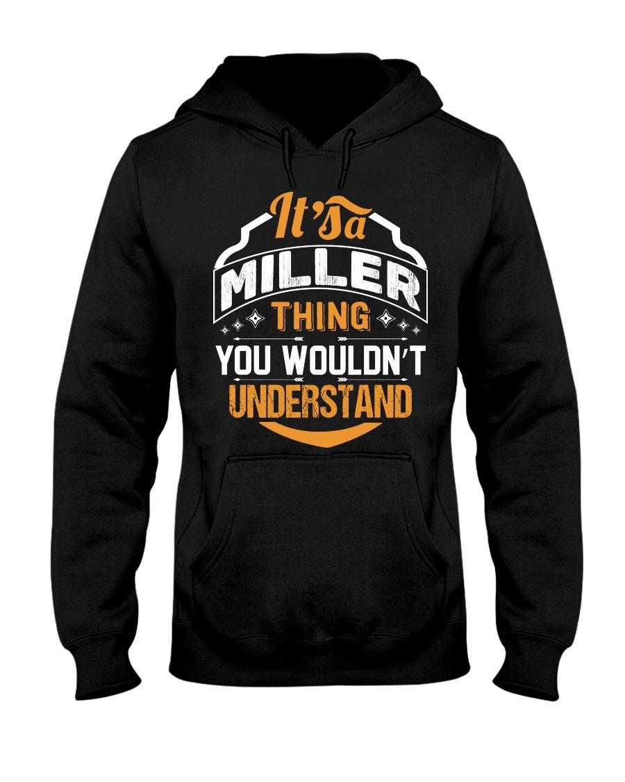 MILLER MILLER MILLER MILLER THING MILLER THING Hooded Sweatshirt