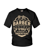 Barber  Barber  Barber  Barber  Barber  Barber Youth T-Shirt thumbnail