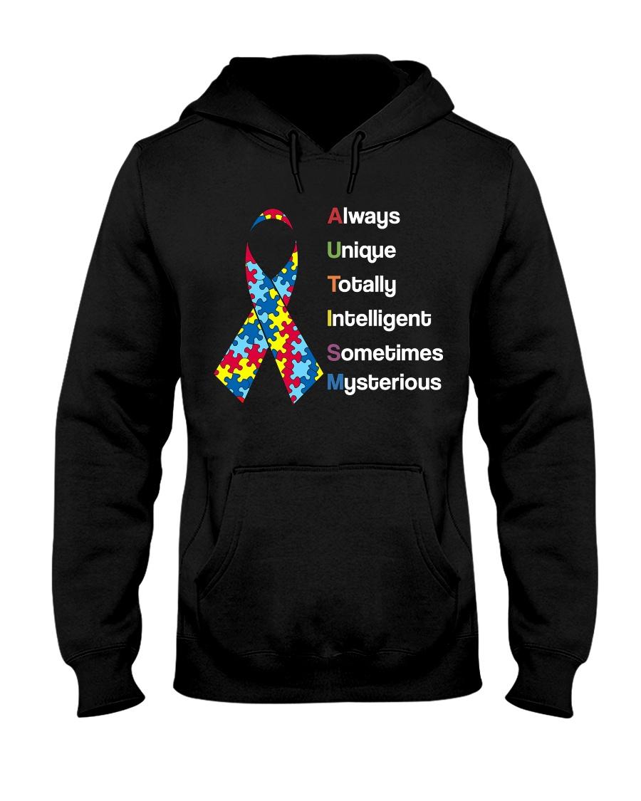 AUTISM AUTISM AUTISM AUTISM AUTISM AUTISM  Hooded Sweatshirt