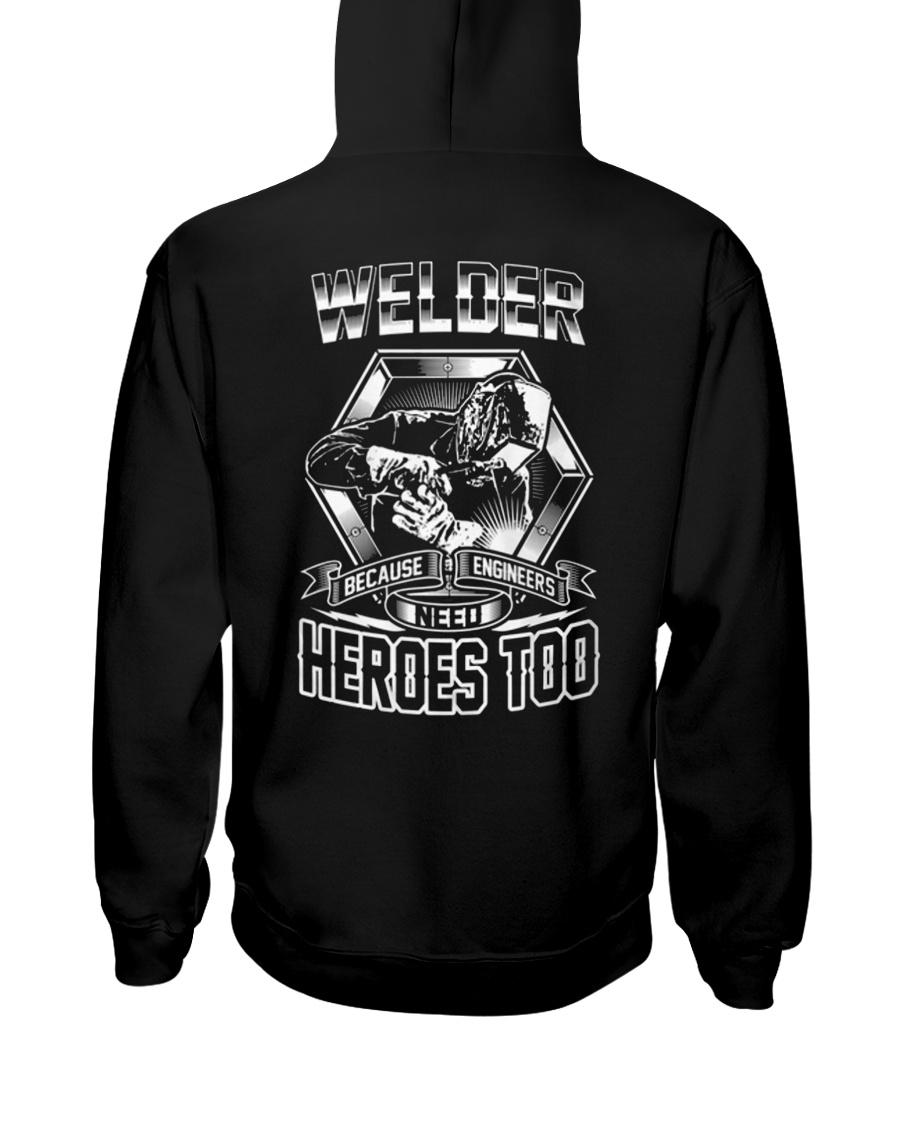 Welder Welder Welder Welder welder welder Welder Hooded Sweatshirt