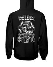 Welder Welder Welder Welder welder welder Welder Hooded Sweatshirt back