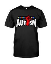 AUTISM AUTISM AUTISM AUTISM AUTISM AUTISM AUTISM Classic T-Shirt thumbnail