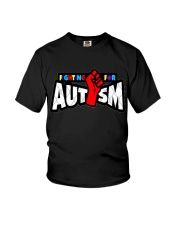 AUTISM AUTISM AUTISM AUTISM AUTISM AUTISM AUTISM Youth T-Shirt thumbnail