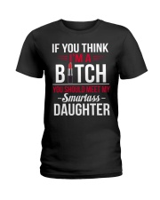 Smartass Daughter - Limited Edition Ladies T-Shirt tile