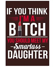 Smartass Daughter - Limited Edition Vertical Poster tile