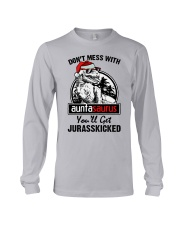 DONT MESS WITH AUNTASAURUS Long Sleeve Tee thumbnail