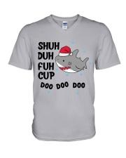 SHUH DUH FUH CUP DOO DOO DOO V-Neck T-Shirt thumbnail