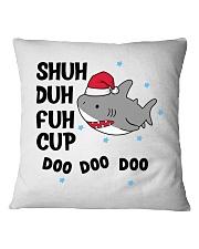 SHUH DUH FUH CUP DOO DOO DOO Square Pillowcase thumbnail