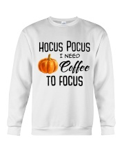 I NEED COFFEE TO FOCUS Crewneck Sweatshirt thumbnail