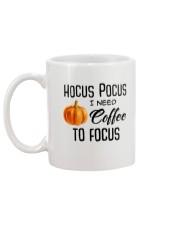 I NEED COFFEE TO FOCUS Mug back