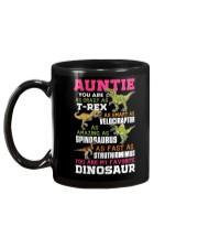 AUNTIE - YOU ARE MY FAVORITE DINOSAUR Mug back