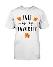 FALL IS MY FAVORITE Classic T-Shirt thumbnail