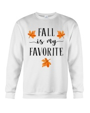 FALL IS MY FAVORITE Crewneck Sweatshirt thumbnail