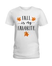 FALL IS MY FAVORITE Ladies T-Shirt thumbnail