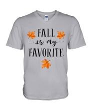 FALL IS MY FAVORITE V-Neck T-Shirt thumbnail