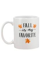 FALL IS MY FAVORITE Mug back